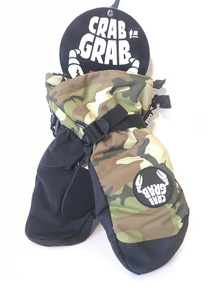 クラブグラブcrabgrab【cinch mitt】Mサイズcamo