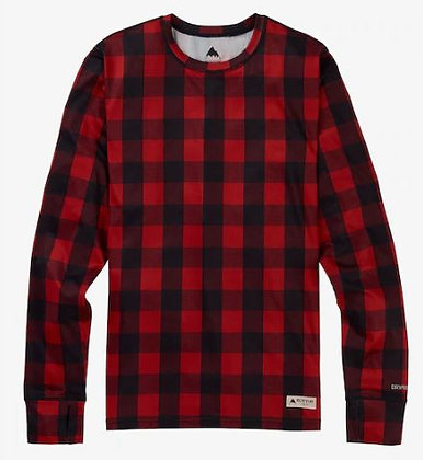 バートン ファーストレイヤー【Lightweight Base Layer Crew】MサイズBitters Buffalo Plaid