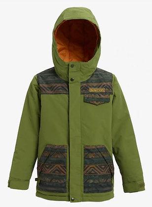 バートン キッズ【dugout jacket】Sサイズolive/resin