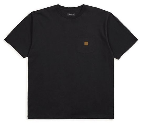ブリクストンbrixton【main label s/s】SサイズBLACK