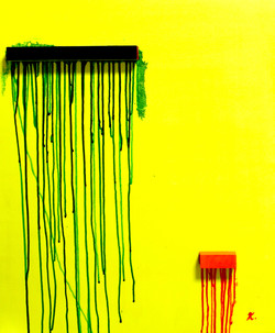 dripping-2.acrylic on canvas.2011
