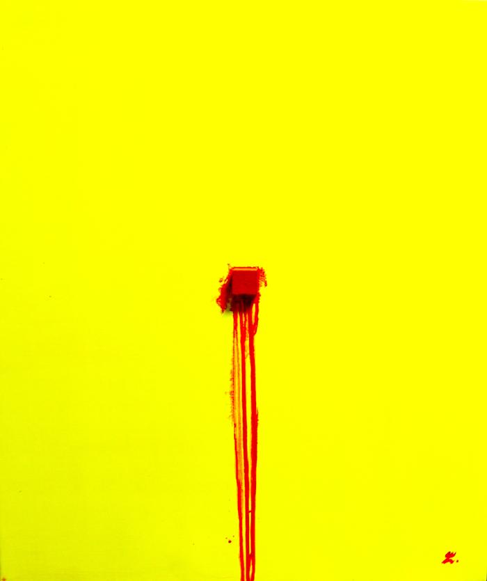 dripping-1.acrylic on canvas.2011