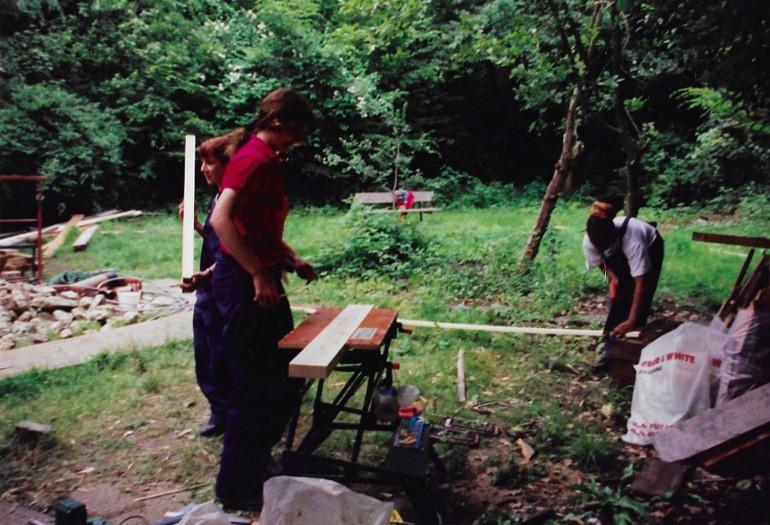 queens wood rennovation garden volunteer
