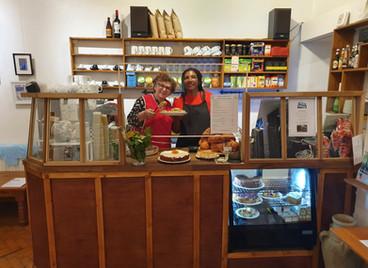 A summer cafe catch-up