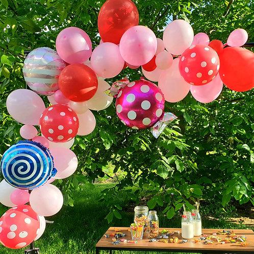 Guirlande de ballons - Candy