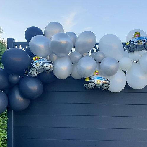 Guirlande de ballons - Police