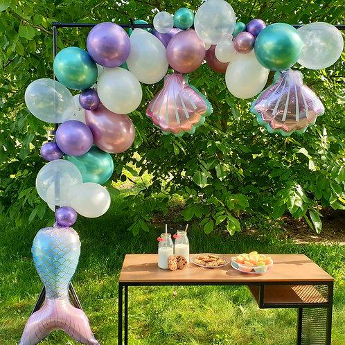 Guirlande de ballons - Sirène