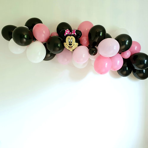 Guirlande de ballons - Minnie