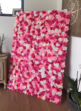 mur de fleurs événement dijon - L'Art des Co