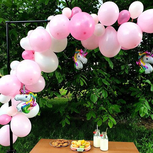 Guirlande de ballons - Licornes