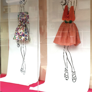 L'Art des Co -dessins vitrines