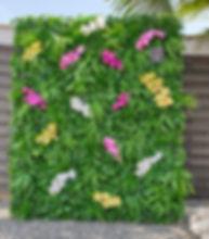 L'Art des Co - Mur végétal