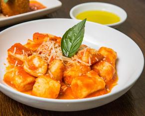 Ricotta Gnocchi with Napoli sauce
