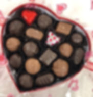 Assortment in a Red Heart Box