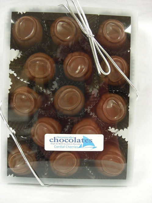 Cherry Cordials Milk or Dark Chocolate