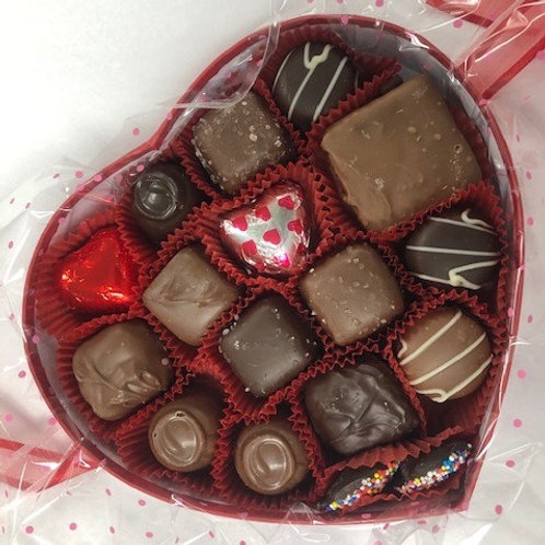 Red Heart Assortments. Select Chocolate Options