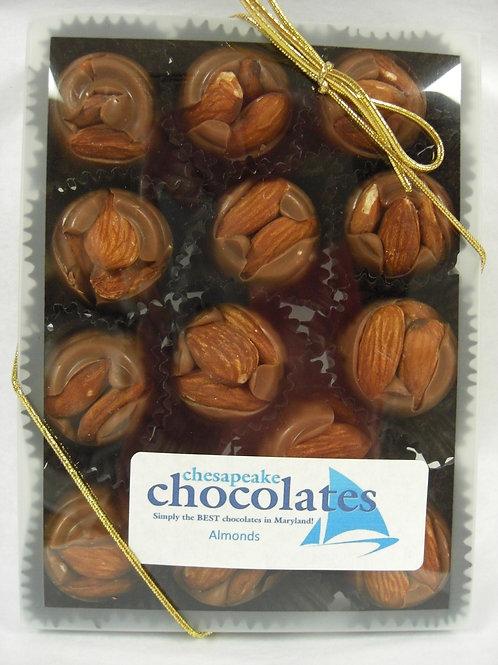 Almonds Milk or Dark Chocolate