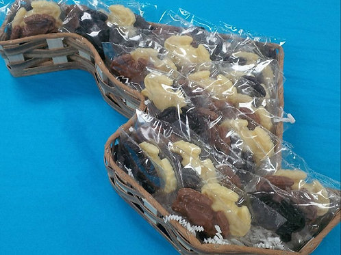 48 Chocolate Crabs in a Maryland Basket