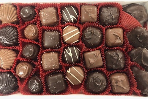 One Pound Assortment Valentine's Day Gift Wrapped