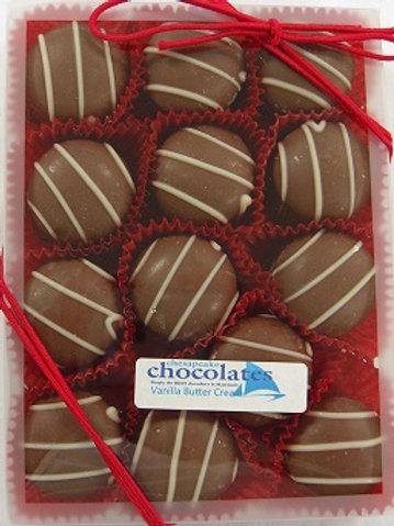 Vanilla Butter Creams Dark Chocolate