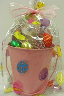 Easter Pail with Milk Chocolates