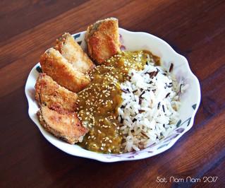 Ihana Katsu curry munakoisolla