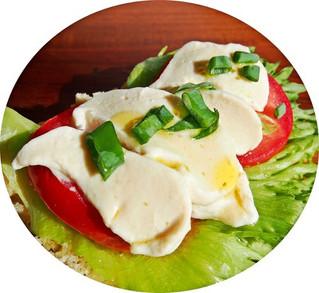 Vegaaninen mozzarella