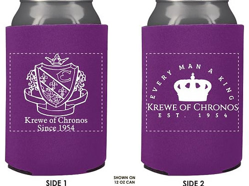 Chronos Purple Koozie