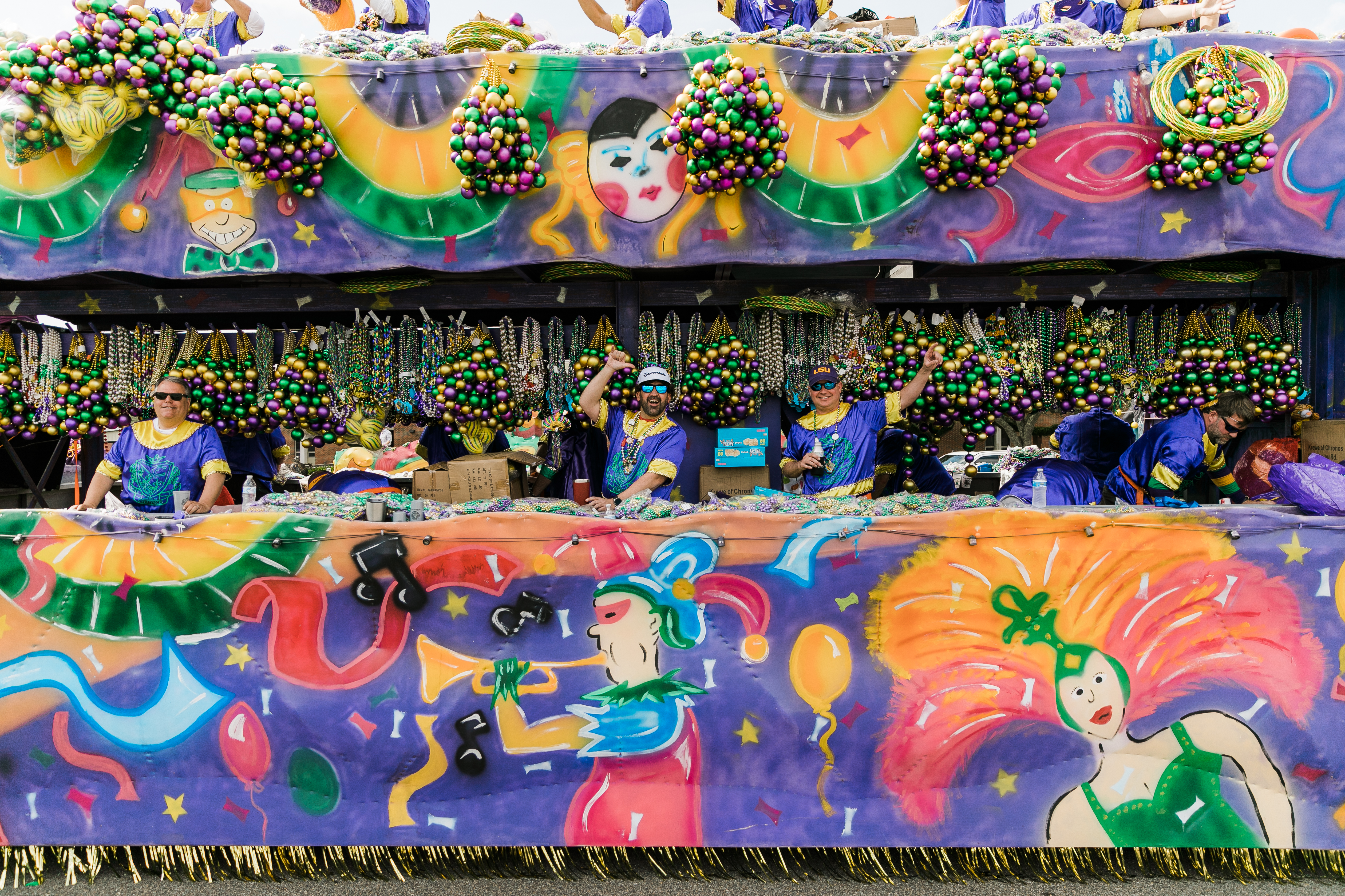 198-2020 Krewe Of Chronos - Parade Day-E