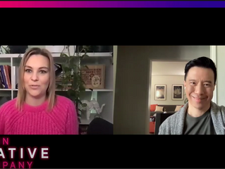 """Producer/Actor Reggie Lee with In Creative Company talking about CBS Show """"ALL RISE""""."""
