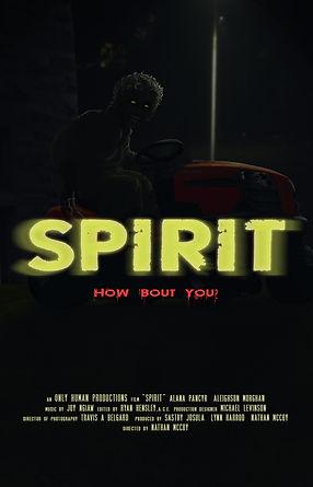 Spirit movie poster, in development.