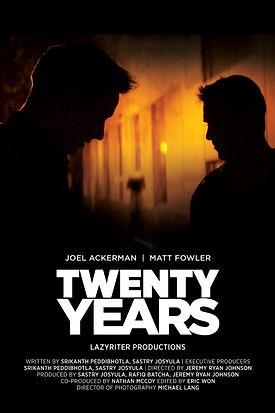 Twenty Years movie poster.