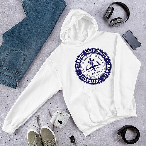Quartet University Unisex Hoodie (Blue Emblem)