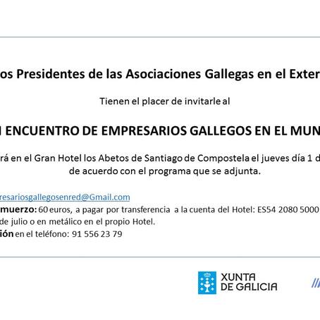 VI Encuentro de Empresarios Gallegos en el Mundo