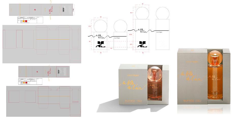 Courrèges Fille de l'air Perfume Fragrance Hong Kong Product Designer