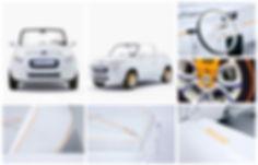 Citroën car E-Mehari Courrèges Industrial Product Designer Hong Kong