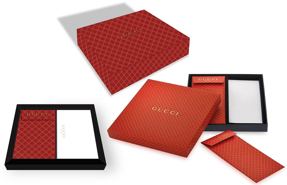 GUCCI Box Gift CNY Chinese New Year Packaging Product Designer Hong Kong