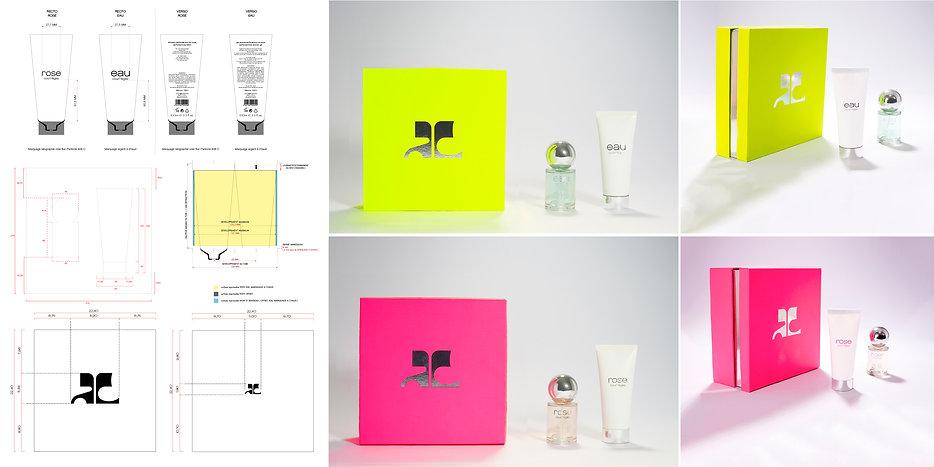 Courrèges Gift Box Perfume Fragrance Hong Kong Product Designer