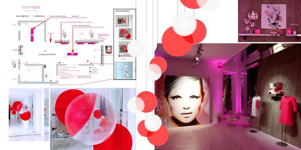 Estée Lauder Courrèges Hong Kong Interior Designer Architecture Architect Creative Event Party