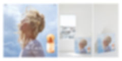 Courrèges Fille de l'Air Visual Merchandising POS Point of Sale Fragrane Perfume Graphic Designer Hong Kong