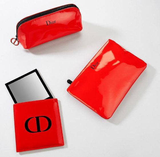 Dior - Makeup pouch & Mirror case