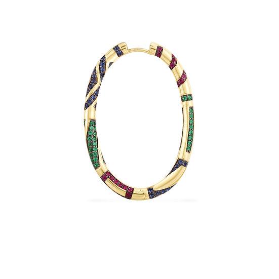 APM Monaco - Long Tribal Earring
