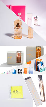 Cosmetic Packaging Fragrance Perfume Makeup Designer Hong Kong Bastien Carsana design