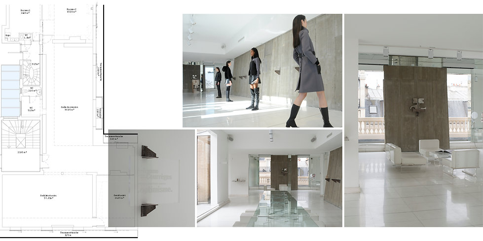 Openspace Headquarter Courrèges Hong Kong Interior Designer Architecture Architect Creative