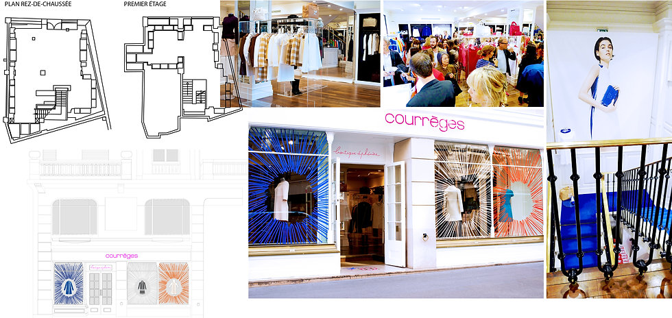 Concept Store Courrèges Hong Kong Interior Designer Architecture Architect Creative Event Party