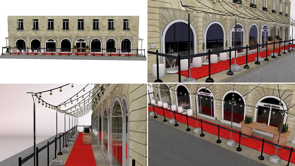 Harvest Courrèges Hong Kong Interior Designer Architecture Architect Creative Event Party 3D Design