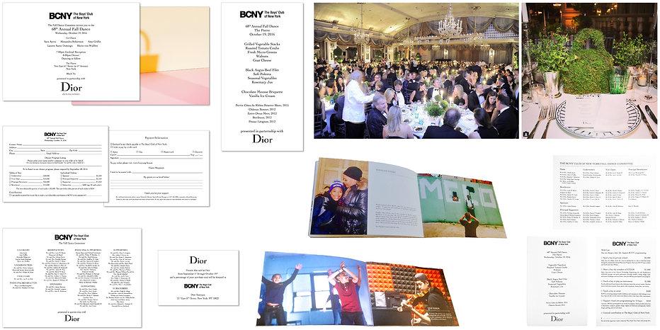 Christian Dior Boys Club of New York Hong Kong Leaflet Event Graphic Designer Creative Design Invitation