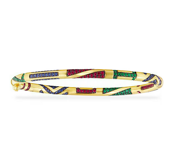 APM Monaco -Thin Tribal Bangle