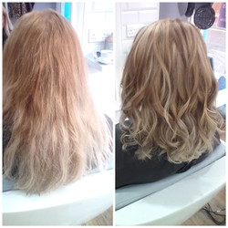 Before and After at Passion Salon