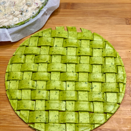 Pasta Brisée agli Spinaci